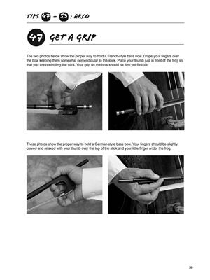 101 Upright Bass Tips