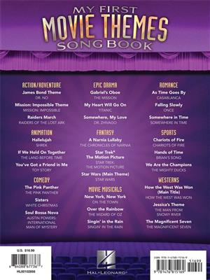My First Movie Themes Songbook