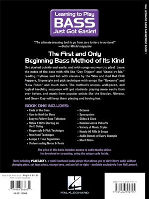 Hal Leonard Bass TAB Method