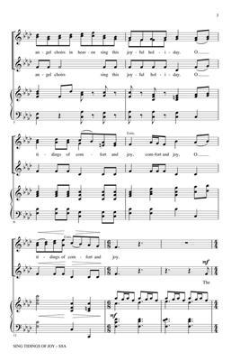 Sing Tidings of Joy