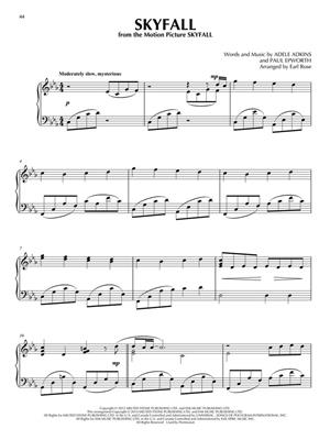 Popular Songs for Piano Solo - 14 Stylish Arr.