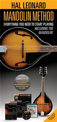Hal Leonard Mandolin Method Pack