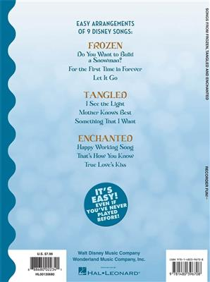 Recorder Fun! Songs From Frozen,Tangled And Enchan