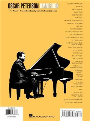Oscar Peterson - Omnibook