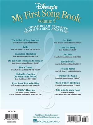 Disney's My First Songbook Vol. 5