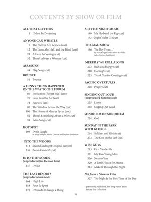 The Almost Unknown Stephen Sondheim