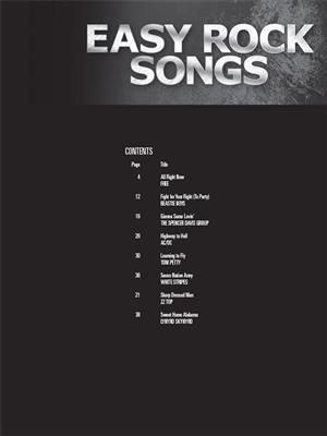 Easy Rock Songs