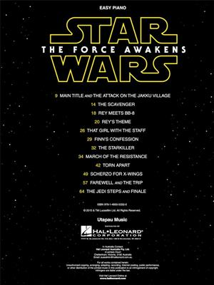 Star Wars: The Force Awakens (Easy Piano)