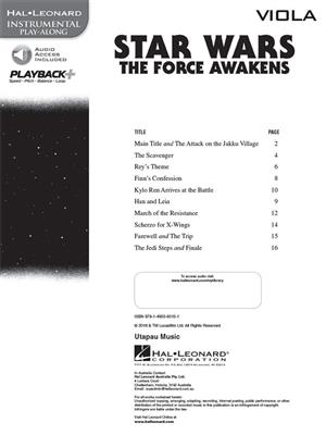 Star Wars: The Force Awakens - Viola