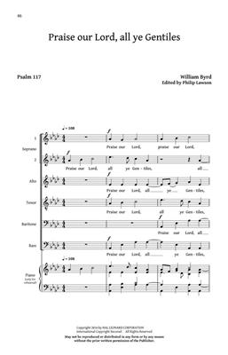 Five Sacred Choral Works