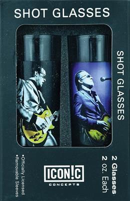 Joe Bonamassa 2-Piece Shot Glass Set - Lithos 1