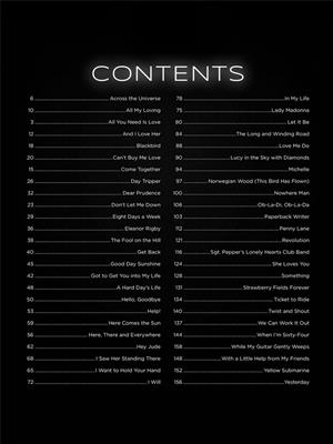 First 50 Songs by The Beatles