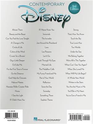 Contemporary Disney - 3rd Edition (PVG)