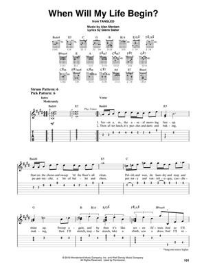 Contemporary Disney: Easy Guitar with Notes & Tab