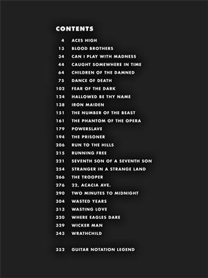 Guitar Tab - 25 Metal Masterpieces