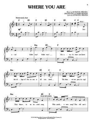 Moana - Easy Piano