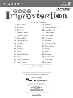 Easy Improvisation (Clarinet)
