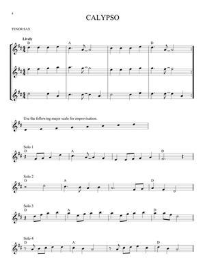Easy Improvisation (Tenor Sax)