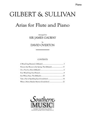 Arias for Flute and Piano
