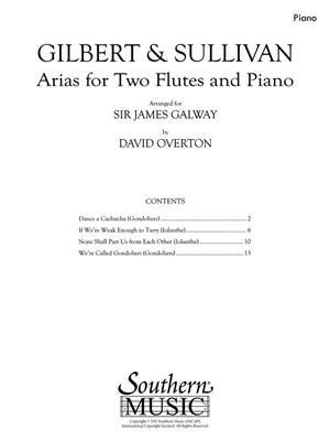 Arias for Two Flutes and Piano