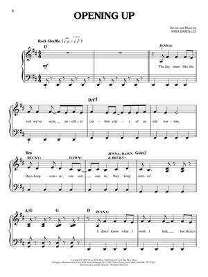 Waitress - Easy Piano Selections