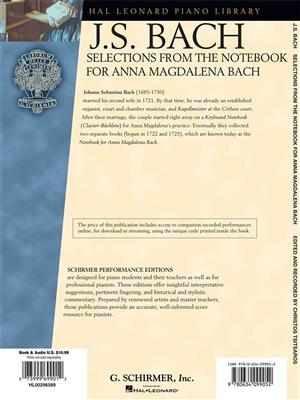 Selections From The Notebook Anna Magdalena Bach