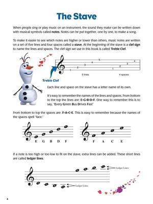 Disney Frozen Music Activity Book