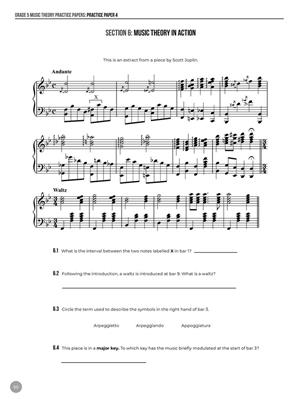 Grade 5 Music Theory Practice Papers