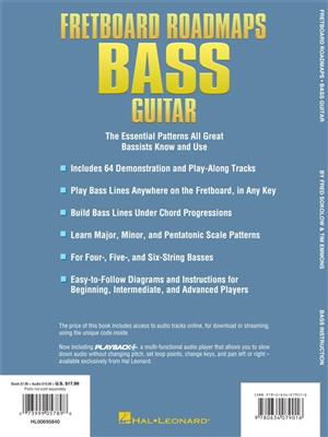 Fretboard Roadmaps Bass Guitar
