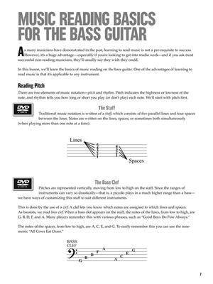 At A Glance - Beginning Bass