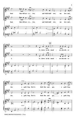 Three British Folksongs