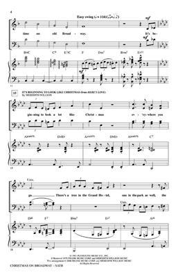 Christmas on Broadway (Medley)