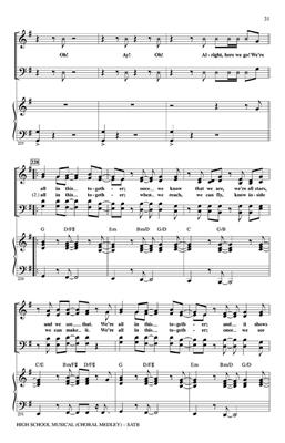 High School Musical 1 (Choral Medley)