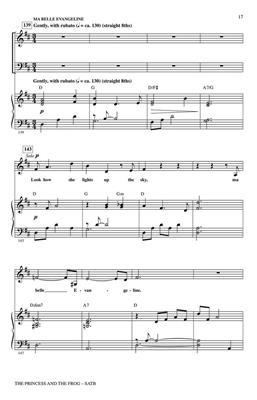 The Princess and the Frog (Choral Medley) SATB