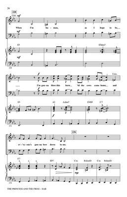 The Princess and the Frog (Choral Medley) SAB