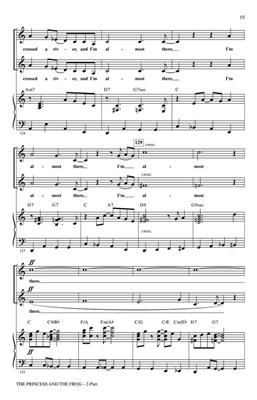 The Princess and the Frog (Choral Medley) 2-Part