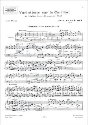Variations Sur Le Carillon