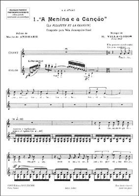 Suite Chant-Violon (Poeme De Mario De Andrade)