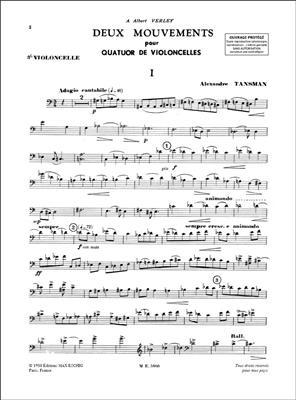 2 Mouvements 4 Violoncelles