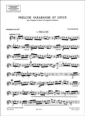 Prelude Sarabande Giguetrp-Piano
