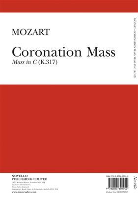 Coronation Mass Mass In C K.317