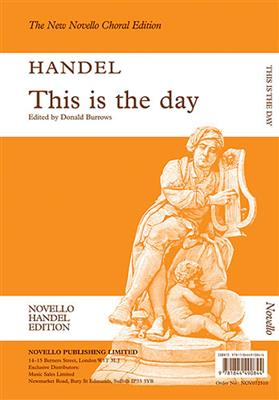 This Is The Day (Ed. Burrows) Vocal Score