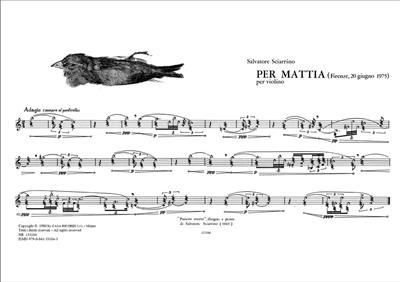 Per Mattia