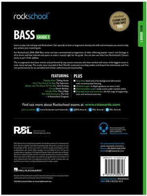 Rockschool Bass Grade 1 (2018)