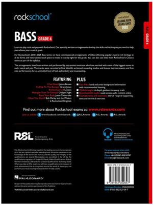 Rockschool Bass Grade 4 (2018)
