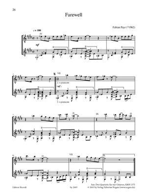 Duos für klassische Gitarre 1