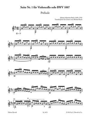 Suite Nr. 1 für Violoncello solo BWV 1007