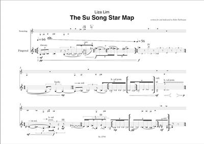 The Su Song Star Map