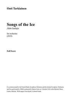 Songs Of The Ice (JÄÄN LAULUJA)