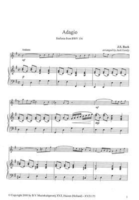 Sinfonia Bwv156 Adagio